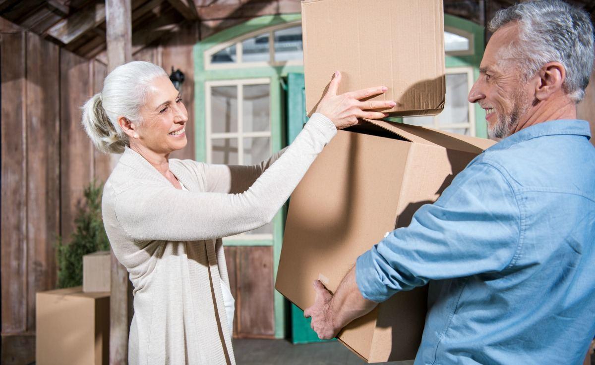 downsizing when retiring