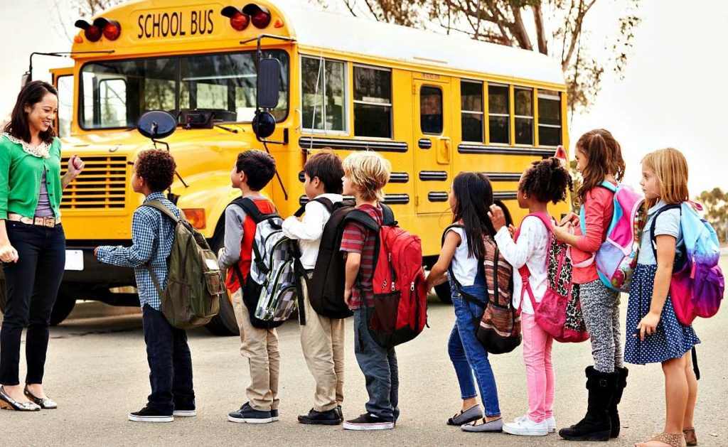 school bus how to choose school for your child