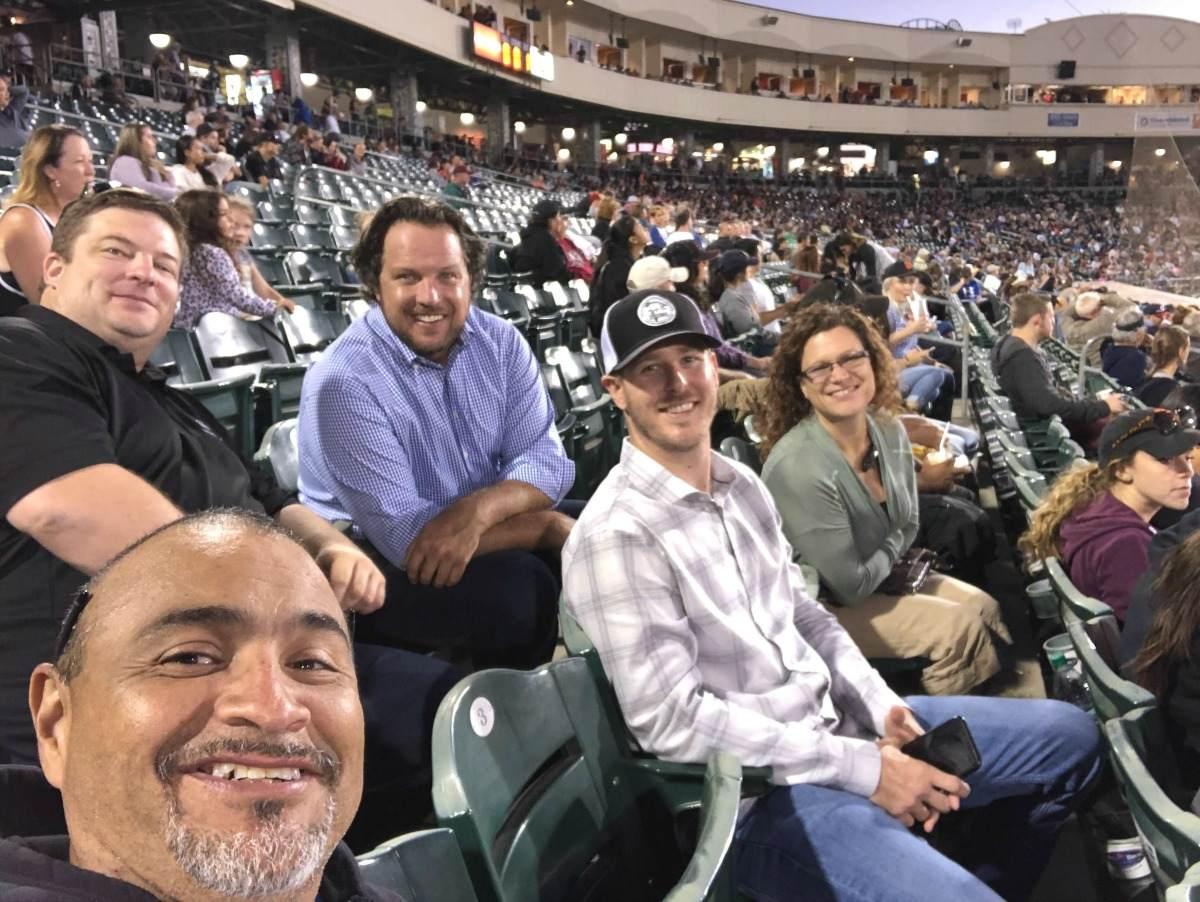 Opendoor Sacramento Team at a Rivercats game