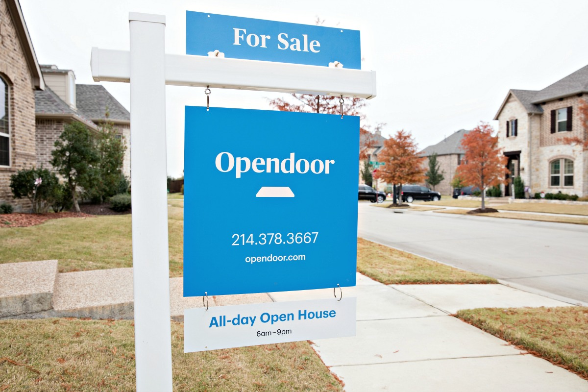 how to sell a house with Opendoor