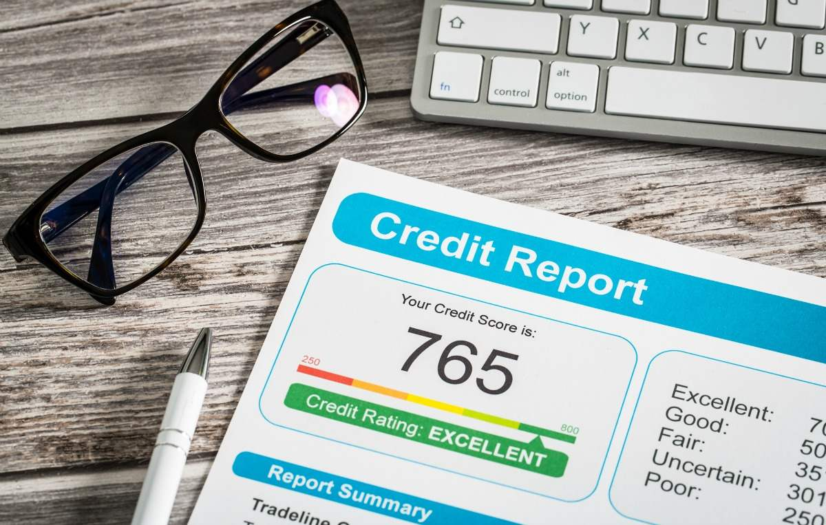 credit report to determine how much home you can afford