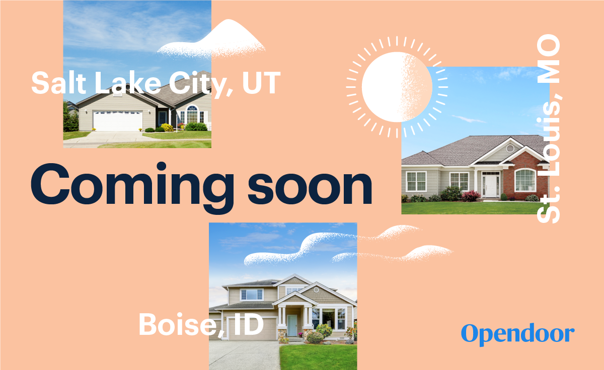 Pleasing Opendoor Is Coming To Salt Lake City Boise And St Louis Home Interior And Landscaping Palasignezvosmurscom